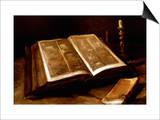 Van Gogh: Bible, 1885 Print by Vincent van Gogh