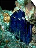 MineralCalendar: Azurite with Malachite. Bisbee, Arizona Art