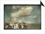 Horse in Field Prints by Mia Friedrich