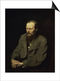 Portrait of the Fyodor Dostojevsky Prints by Vasili Grigorevich Perov