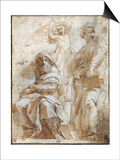 Raphael: Study, C1510 Prints by  Raphael