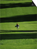 Walking on the Golf Course Posters