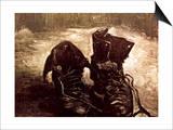 Van Gogh: Boots, 1886 Prints by Vincent van Gogh