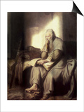 Saint Paul in Prison Prints by  Rembrandt van Rijn