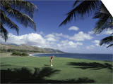 Golf Course in Paradise Posters