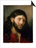 Head of Christ Prints by  Rembrandt van Rijn