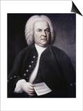 Johann Sebastian Bach Prints by Elias Gottlob Haussman
