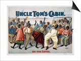 Uncle Tom's Cabin, C1899 Print