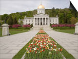 Vermont State Capitol Building, Montpelier, Vermont Poster