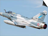 A Dassault Mirage 2000C of the French Air Force Prints by  Stocktrek Images