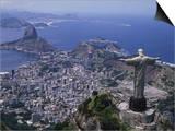 Christ the Redeemer Statue Rio de Janeiro, Brazil Posters