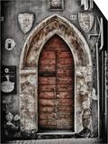 Ancient Door in L'Aquila Art by Andrea Costantini