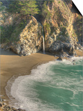 Mcway Falls at Julia Pfeiffer Burns State Park on the Big Sur Coast of California Art by Kyle Hammons