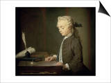 The Boy with a Spinning Top Prints by Jean-Baptiste Simeon Chardin