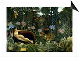 Rousseau: Dream, 1910 Prints by Henri Rousseau