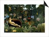 Rousseau: Dream, 1910 Prints by Henri Rousseau