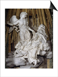 Ecstasy of St. Theresa Print by Giovanni Lorenzo Bernini