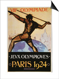 Olympic Games, 1924 Prints
