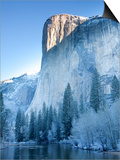 Scenic Image of El Capitan in Yosemite National Park. Posters by Justin Bailie