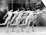 Allen: Chorus Line, 1920 Poster by Albert Arthur Allen