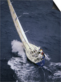 Racing Yacht Poster