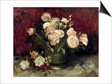Van Gogh: Roses, 1886 Art by Vincent van Gogh