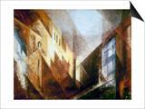 Feininger: Treptow, 1932 Prints by Lyonel Feininger