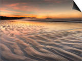 Sunrise at Long Beach in Pacific Rim National Park on the West Coast of Vancouver Island Prints by Kyle Hammons