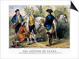 John Andre (1750-1780) Posters by  Currier & Ives