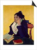 L'Arlesienne: Madame Joseph Michel Ginoux Print by Vincent van Gogh