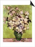 Vase of Roses Prints by Vincent van Gogh