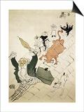 La Vache Enragee Arte por Henri de Toulouse-Lautrec