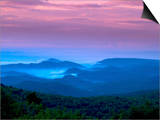 Sunrise on Grandfather Mountain Posters by Melissa Southern