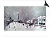Utrillo: Eiffel Tower Posters by Maurice Utrillo