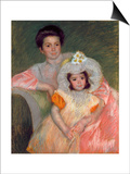 Cassat: Woman & Girl, C1902 Poster by Mary Cassatt