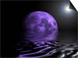 Moon Water Prints by Paul Cooklin
