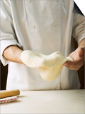 Shaping Pizza Dough by Hand (Stretching) Art