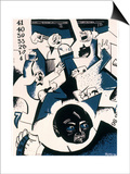 Stock Market Crash Poster by William Gropper