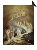 Jacob's Ladder Posters by William Blake