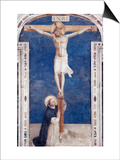 Crucifixcion with Saint Dominick, c.1438-1445 Posters by  Fra Angelico