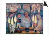 Rivera: The Wake, 1926 Print by Diego Rivera