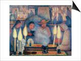 Rivera: The Wake, 1926 Print by Diego Rivera