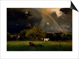 Rainbow Posters by George Inness
