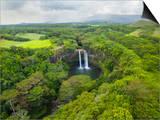 Wailua Falls on the Wailua River, Kauai, Hawaii. Prints by Ethan Welty