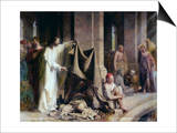 The Pool of Bethesda Poster by Carl Bloch