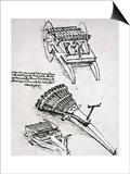 Leonardo: Gun Art by  Leonardo da Vinci
