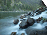 Scenic Image of Salmon River, Idaho. Prints by Justin Bailie