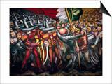 Siqueiros: Mural, 1950S Prints by David Alfaro Siqueiros