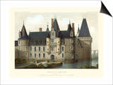 Petite French Chateaux II Prints by Victor Petit