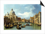 The Entrance to the Grand Canal, Venice Posters by  Canaletto